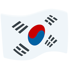Flag: South Korea Emoji in Messenger
