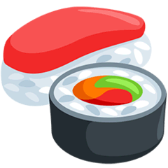 Sushi Emoji in Messenger