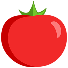 Tomato Emoji in Messenger