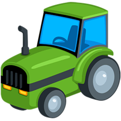 Tractor Emoji in Messenger