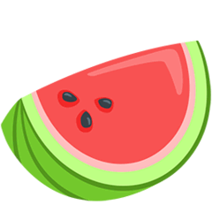 Watermelon Emoji in Messenger