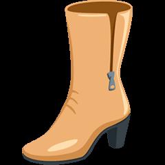 Woman's Boot Emoji in Messenger
