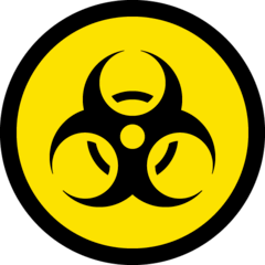 Biohazard Emoji on Windows
