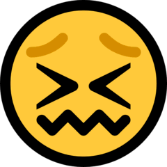 Confounded Face Emoji on Windows