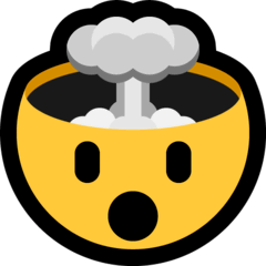 Exploding Head Emoji on Windows
