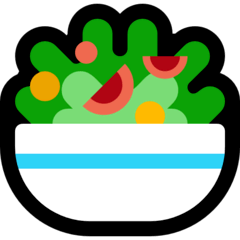 Green Salad Emoji on Windows