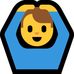 Man Gesturing OK Emoji on Windows