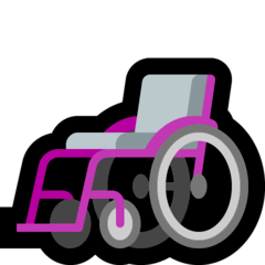 Manual Wheelchair Emoji on Windows