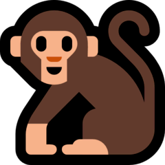 Monkey Emoji on Windows