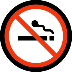 No Smoking Emoji on Windows