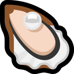 Oyster Emoji on Windows