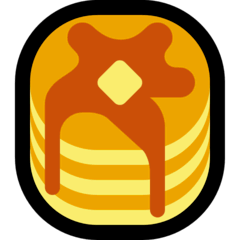Pancakes Emoji on Windows