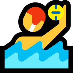 Person Playing Water Polo Emoji on Windows