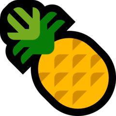 Pineapple Emoji on Windows