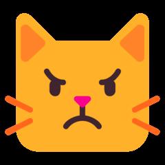 Pouting Cat Emoji on Windows