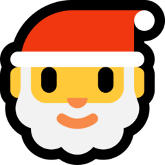 Santa Claus Emoji on Windows