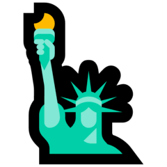 Statue of Liberty Emoji on Windows