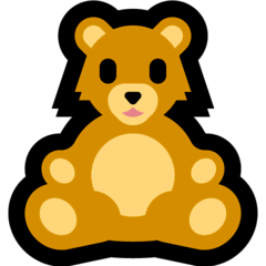 Teddy Bear Emoji on Windows