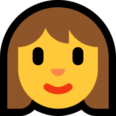 Woman Emoji on Windows