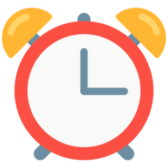 Alarm Clock Emoji in Mozilla Browser