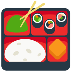 Bento Box Emoji in Mozilla Browser