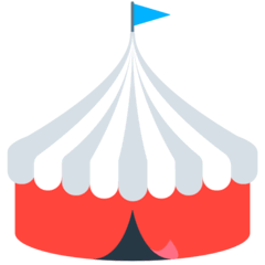 Circus Tent Emoji in Mozilla Browser