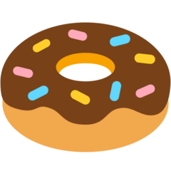 Doughnut Emoji in Mozilla Browser