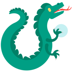 Dragon Emoji in Mozilla Browser