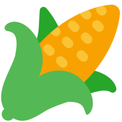 Ear of Corn Emoji in Mozilla Browser