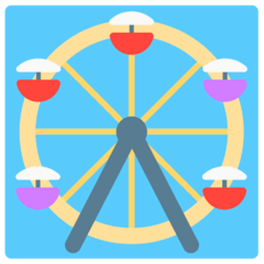 Ferris Wheel Emoji in Mozilla Browser
