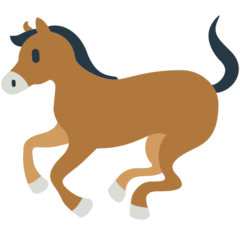 Horse Emoji in Mozilla Browser