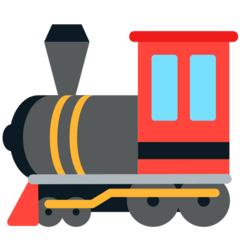 Locomotive Emoji in Mozilla Browser