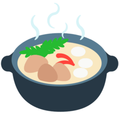Pot of Food Emoji in Mozilla Browser