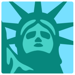 Statue of Liberty Emoji in Mozilla Browser