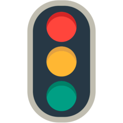 Vertical Traffic Light Emoji in Mozilla Browser
