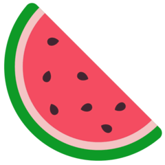 Watermelon Emoji in Mozilla Browser