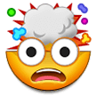 Exploding Head Emoji on Samsung Phones