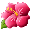 Hibiscus Emoji on Samsung Phones