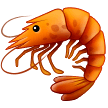Shrimp Emoji on Samsung Phones