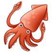 Squid Emoji on Samsung Phones