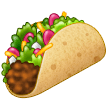 Taco Emoji on Samsung Phones