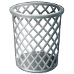 Wastebasket Emoji on Samsung Phones