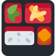 Bento Box Emoji on Twitter