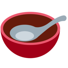 Bowl With Spoon Emoji on Twitter