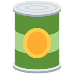 Canned Food Emoji on Twitter