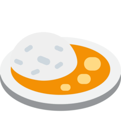 Curry Rice Emoji on Twitter