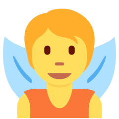 Fairy Emoji on Twitter