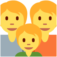 Family Emoji on Twitter