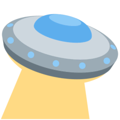 Flying Saucer Emoji on Twitter