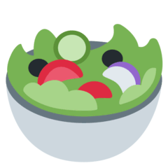 Green Salad Emoji on Twitter